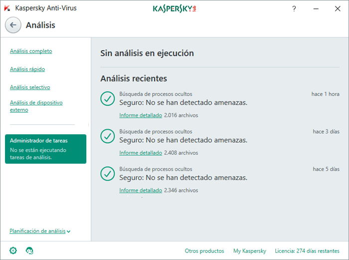 Analisis de Kaspersky Anti-Virus 2017